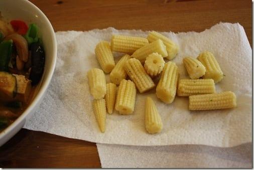 Boo to baby corn