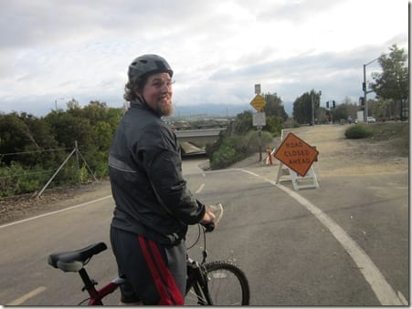 Ben with bike