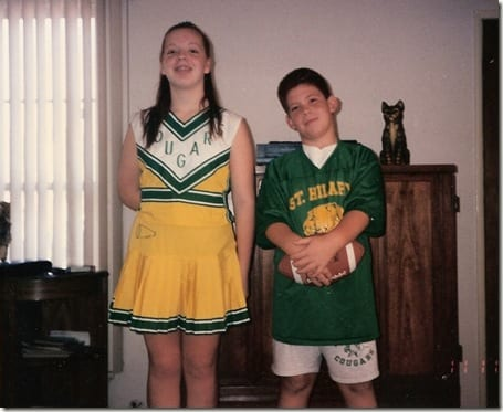 CHEERLEADER!