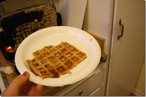 waffle skin