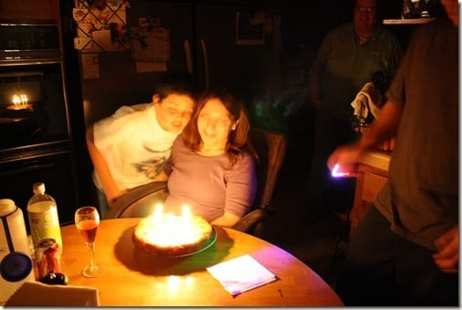 don't let matt blow out the candles