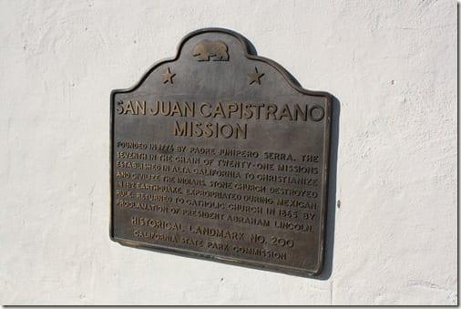 IMG 9210 thumb Mission San Juan Capistrano Visit