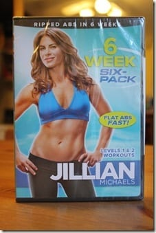 Jillian Michaels and Scraping my Jar