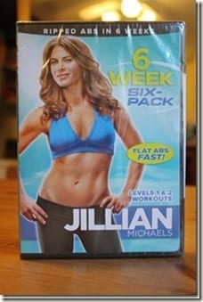 6 week six pack thumb Jillian Michaels and Scraping my Jar