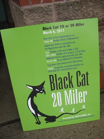 The Black Cat 10 Miler and Traveling for a Race
