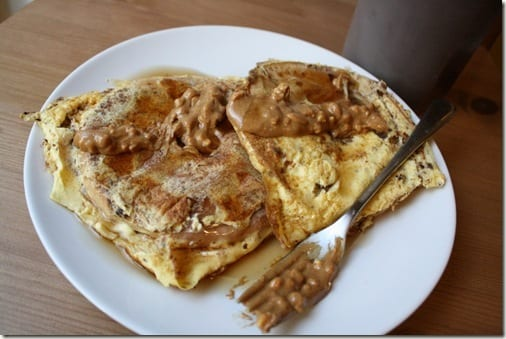 french toast with PB