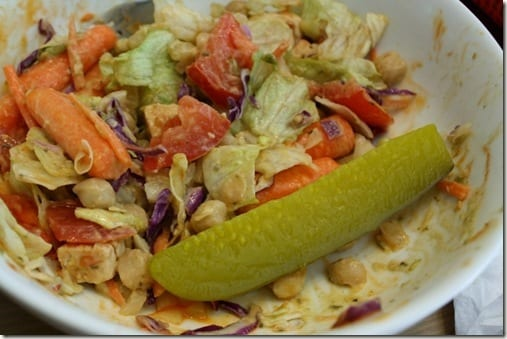 pickle salad