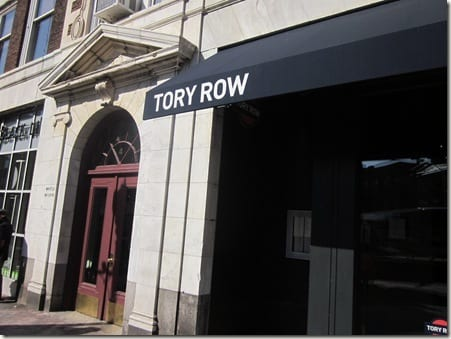 Tory Row outside