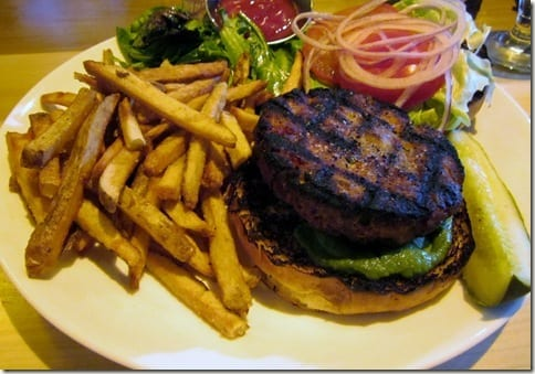 Rustic Kitchen Tuna Burger