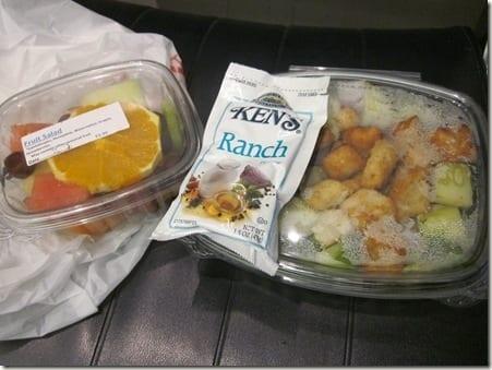 airport dinner