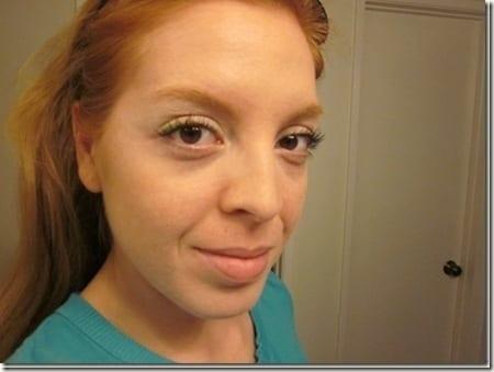 green eye liner