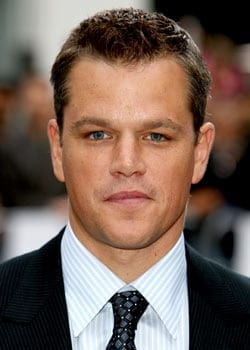 I'm Blogging Matt Damon