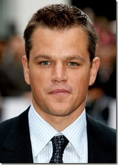 matt damon thumb I'm Blogging Matt Damon