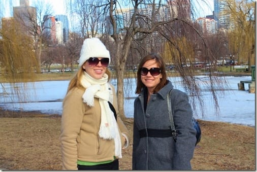 monica and chandra in boston