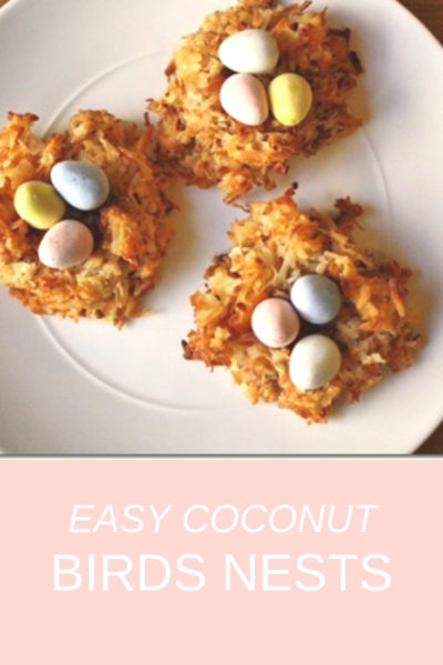easy coconut birds nest recipe