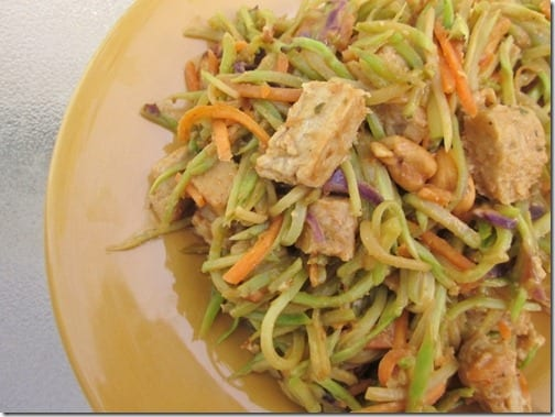 broccoli slaw stirfry