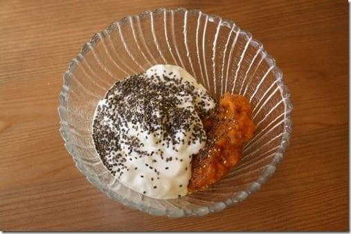 yogurt and pumpkin