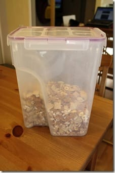 cereal tupperware