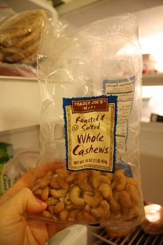 Frozen Cashews