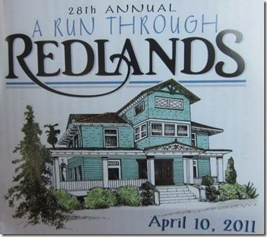 run through Redlands