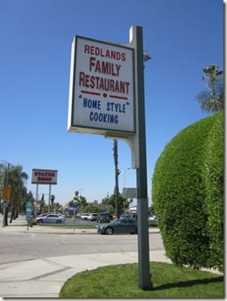 Redlands Family Restaurant