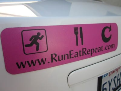 RER bumper sticker