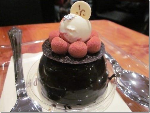 imperial dessert at aria 1