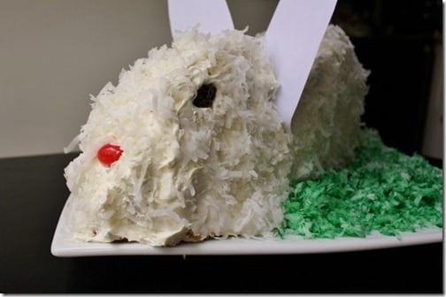 bunny cake face