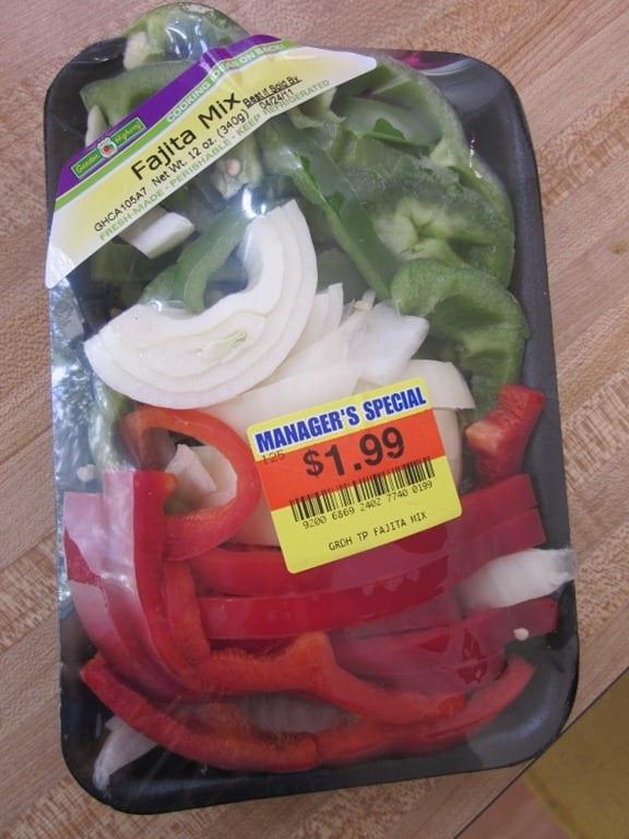 Veggie Burger Fajitas