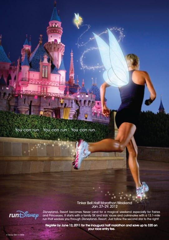 New Disneyland Half Marathon