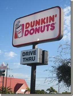 dunkin donuts sign thumb My Iced Coffee Recipe
