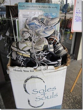 soles 4 souls thumb Recycle Your Running Shoes