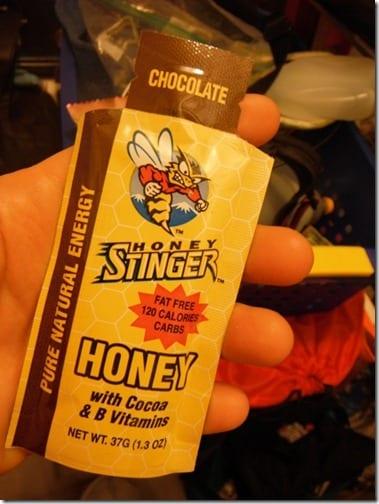 chocolate honey stinger