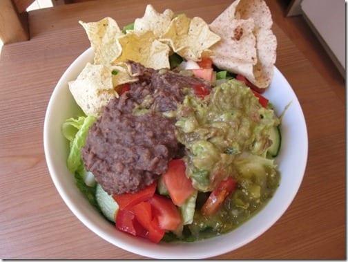 taco burrito salad