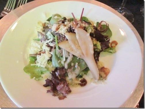salad at wedding