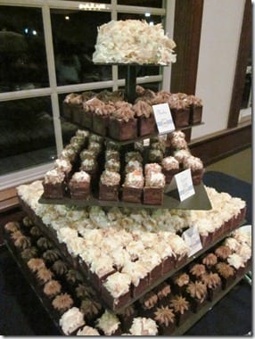 tiered cupcake wedding