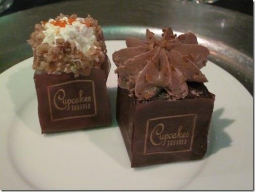 square wedding cupcakes