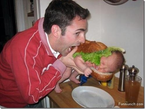 baby sandwich thumb The Hunger Emergency