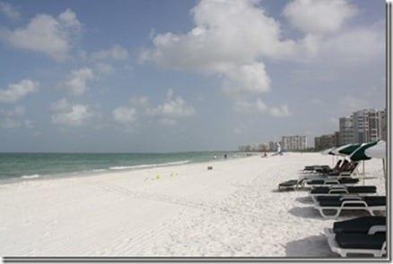 beach scene in Florida