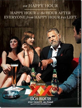dos equis ad thumb The Lazy Girl Margarita
