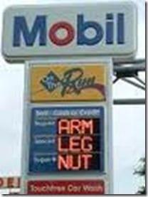 gas is a nut