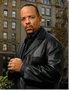 """LAW & ORDER: SPECIAL VICTIMS UNIT-- NBC Series -- Pictured: Ice-T as Det. Odafin """"Fin"""" Tutuola -- NBC/Universal Photo: Paul Drinkwater"""
