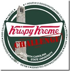krispy kreme challenge thumb What to Eat (or drink) While Running