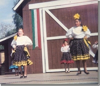 monica mexican dancing
