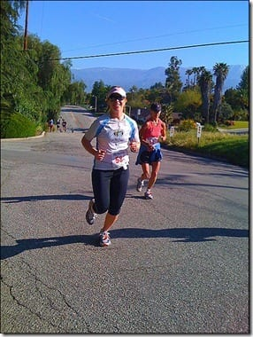 monica running redlands thumb April Highlights and May Goals