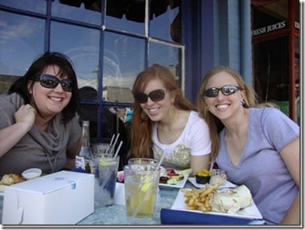 the girls in Annapolis