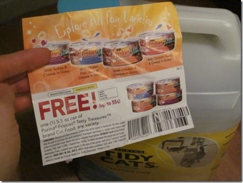 cat food coupon