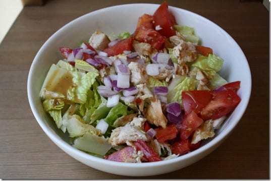 homemade salad