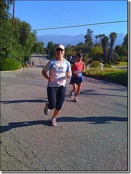 monica running redlands