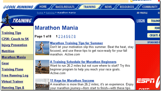 image thumb5 Marathon Training Plans